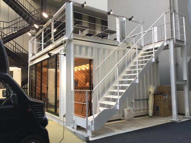 コンテナハウスにおける開口部の考え方とデザイン。自由度が高いコンテナ建築