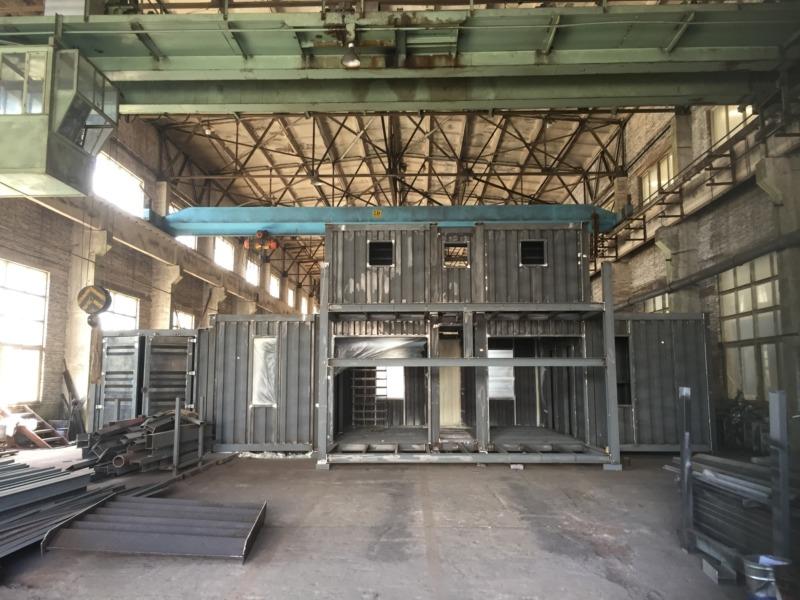建築用コンテナ 工場