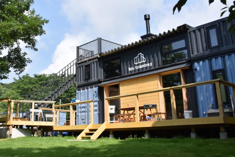北海道 コンテナ ハウス