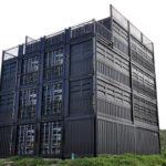 【施工事例】沖縄古宇利島のハウススタジオ。コンテナ4階建ての究極のコンテナハウジング