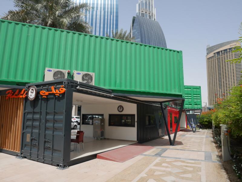 コンテナハウスを活用した店舗をイベント等で設置したい。仮設許可申請の流れとは?