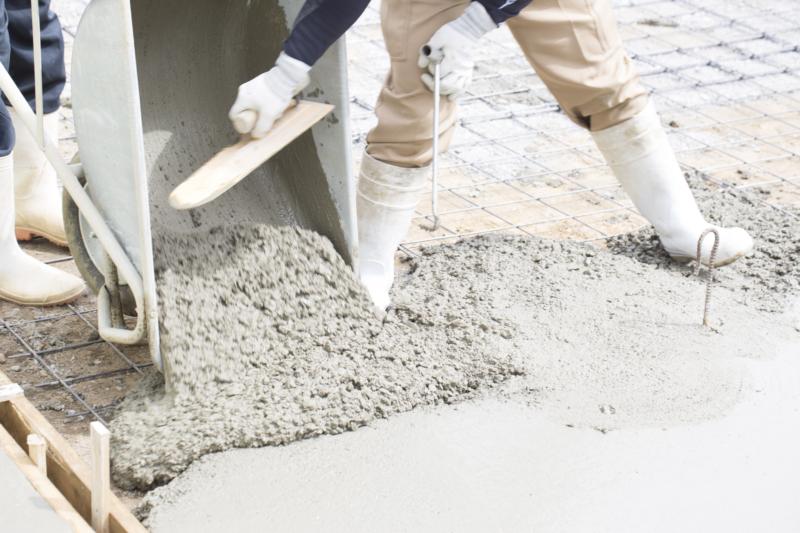 コンクリート工事とは?鉄筋コンクリートの柱や壁などをつくる