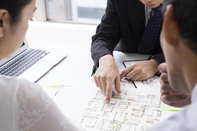 建築の仕事。建築主、設計者、施工者の関わり