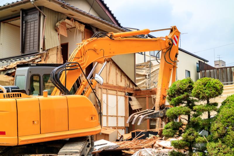 解体工事の費用相場、期間、工事の流れ!考えられるトラブルは?