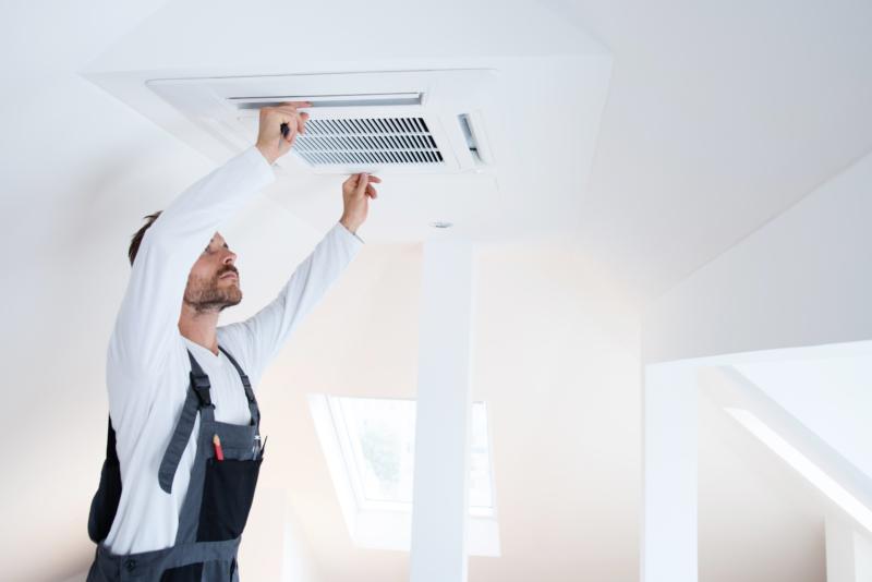 空気調和設備工事とは?温湿度や空気の流れ、清浄度を整える設備工事