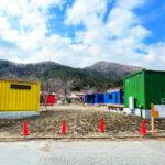 【施工事例】コンテナ合計12台使用した宿泊施設