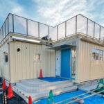 【施工事例】コンテナ5台を使用したNPO法人運営の地域貢献施設